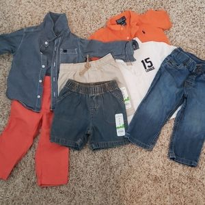 Lot of Toddler Boy's Clothes 18 Months